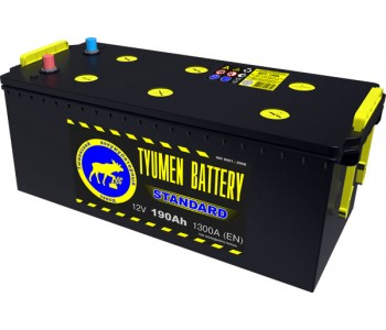 Батарея аккумуляторная свинцовая стартерная 6СТ-190L STANDARD